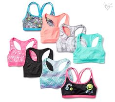 Sports bras for every adventure!