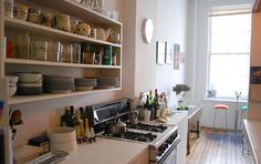 Smaller Homes with Large Kitchens | ... homeowners tips on how to improve their kitchens if space is an issue