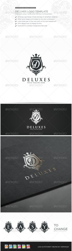 Deluxe - Premium Logo for all Categories