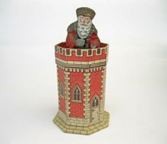 Antique Santa or Father Christmas on A Castle Turret 5 ½ Inches | eBay