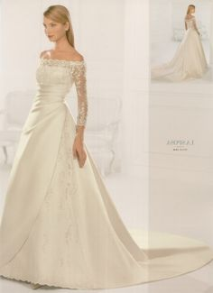 Sleeves For Wedding Dresses Discount