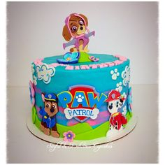 """Paw Patrol! Facebook """"Sinful & Delicious Cupcakes"""" Skye Paw Patrol Cake, Paw Patrol Cupcakes, Paw Patrol Birthday Cake, Paw Patrol Party, Girls 3rd Birthday, 3rd Birthday Cakes, Fourth Birthday, 1st Birthday Parties, Caramel Cupcakes"""