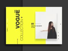 Interactive Landing page for fashion website... hope you guys like it ;)