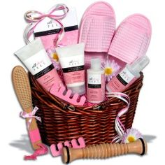 Bridal shower gift~ Either way if you buy this type of a gift or put them together ... Great idea for shower gifts!