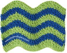 Galería de puntos fantasía en crochet (parte 6)