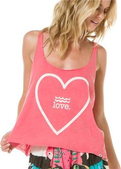 See the back of this tank - mesh.. LOVE! http://www.swell.com/Womens-Tanks/BILLABONG-WAIT-FOR-YOU-MESH-BACK-TANK?cs=LC