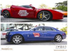 OnlyInDubai: Rolls Royce, Ferrari, Bentley, Lamborghini taxis will offer free rides to residents on weekends from 19th November 2014 to 6th December 2014 as part of Dubai Motor Festival.