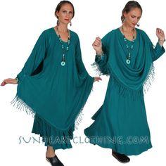 DAIRI SULTANA MAGIC DRESS FRINGE PLUS BOHO HIPPIE CHIC cut on the bias SML-2X #DAIRIFASHIONS #MAGICDRESS #ANYTIME