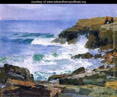 Looking out to Sea - Edward Henry Potthast - www.edwardhenrypotthast.org
