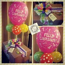 Imagen relacionada Diy Birthday Box, Birthday Photo Frame, Birthday Photos, Friend Birthday, Birthday Cards, Birthday Gifts, Balloon Box, Party In A Box, Special Gifts