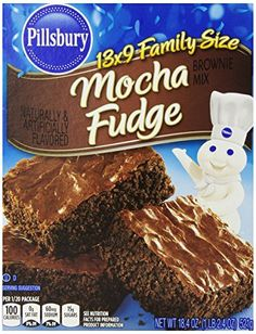 Pillsbury Brownie Mix Mocha Chocolate 184 Ounce Pack of 12 >>> Visit the image link more details.