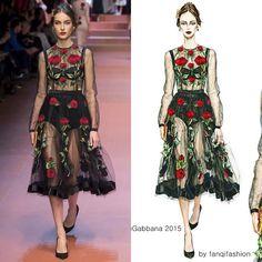 @dolcegabbana 2015 #illustration #fashionart #fashiongirl #fashionillustration #fashion #beauty ...