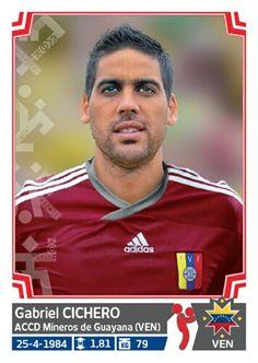 280 Gabriel Cichero - Venezuela - Copa America - Chile 2015