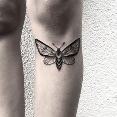 moth for valentina #moth #motte #tattoo #blackwork #dotwork #dotworktattoo…