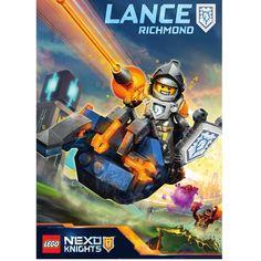 LEGO NEXO KNIGHTS will soon catapult into action! #UpgradeYourPower #LanceRichmond #LEGO