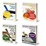 Free Kindle Book -   Natural Remedies for Health, Home, and Beauty Box Set 4 Books in 1: Vol1: Epsom Salt; Vol. 2: Apple Cider Vinegar; Vol. 3: Coconut Oil; Vol 4: Baking Soda