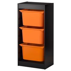 IKEA - TROFAST, Storage combination, , A playful and sturdy storage series for storing and organizing toys.The frame comes with guide rails, so you can place boxes and shelves where you want them, and change them any time.Low storage makes it easier for children to reach and organize their things.