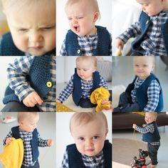 les tricots de Granny - Le gilet small & mixte de Granny©