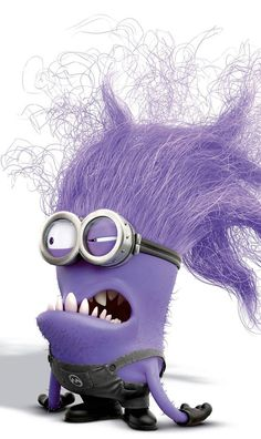 In Despicable Me 2 we were introduced to new minions, the evil purple minions. Based on the popularity of the yellow minions, these new crazy screaming purple minions are going to be very popular Halloween costumes this year.