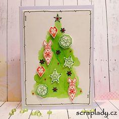 SCRAPLADY.CZ: Vánoční přání