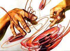 Human Body, Concept Art, Watercolor, Cool Stuff, Illustration, Artist, Painting, Inspiration, Design