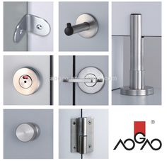 Commercial Bathroom Stalls Hardware toilet partition hardware-stainless steel latch | toilet stall