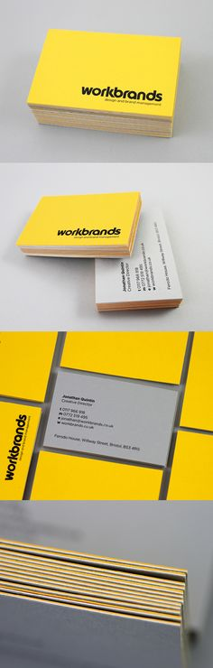 Yellow Identity Design - great looking business card inspiration - Templates Engine Business Card Logo, Business Card Design, Creative Business, What Is Fashion Designing, Name Card Design, Bussiness Card, Identity Design, Identity Branding, Branding Ideas