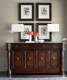 Leather Sleeper Sofa Brompton Hall Collection from Thomasville Thomasville FurnitureDining