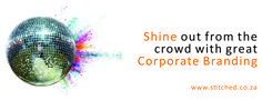 #shine out from the #crowd with #great #corporate #branding from #stitchedsa