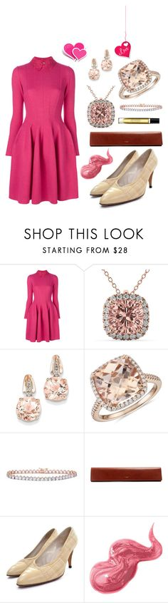 """""""Untitled #3486"""" by moestesoh ❤ liked on Polyvore featuring Ermanno Scervino, Allurez, BillyTheTree, Blue Nile, Yves Saint Laurent, Bobbi Brown Cosmetics and Byredo"""
