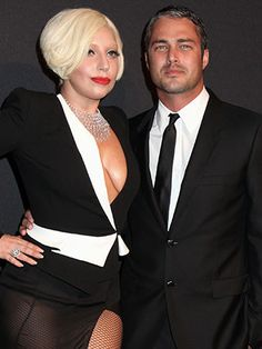 Rumor has it Lady Gaga and her boyfriend Taylor Kinney held a secret commitment ceremony. Does this means marriage is on the way? Celebrity Couples, Celebrity Pictures, Celebrity Style, Lady Gaga And Fiance, Ready For Marriage, Lady Gaga Pictures, Taylor Kinney, Kylie Minogue, Star Fashion