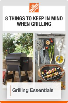 Enjoy your grilling station with help from The Home Depot. There's nothing quite like the sizzling smells of backyard grilling. Get ready for the season with ideas and tools from The Home Depot that will help make grilling in your outdoor space a breeze. Click to learn more. Backyard Cookout, Spark Up, End Of Winter, Grill Accessories, Barbecue Grill, Keep In Mind, Outdoor Cooking, Grills, Breeze