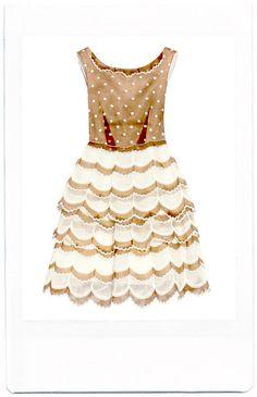 marc jacobs embroidered dress, barneys new york