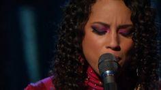 Alicia Keys- Unplugged - Wild Horses.[HD ]