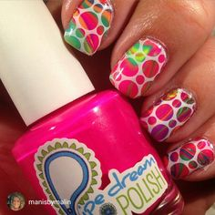 repost via @instarepost20 from @manisbymalin The Swedish winter is sooo long, so I wanted something colorful and kind of crazy to cheer me up! Neon cremes from @pipedreampolish, got mine from @edgypolish!  LilyAnna stampingplate 06, got it from @messymansion, and white stampingpolish from @mundodeunas. #pipedream #pipedreampolish #edgypolish #messymansion #mundodeunas #mdu #neons #notd #nails #nailpolish #nailstagram #nailstamping #nailartstamping #nailsofinstagram #mani #manicure #polish…