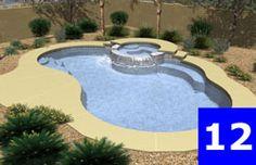 Pool Layout  AZ Best Priced Pools  480-898-4242  start at 12,995