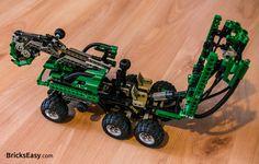 Lego Technic 8446 Crane Truck - cabin opened