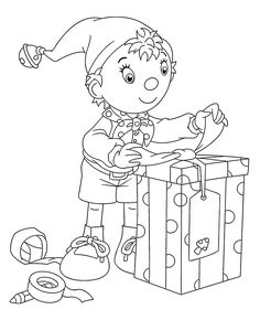 noddy and mr jumbo coloring page free printable coloring.html
