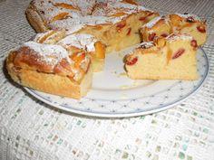 La cucina di ❀ Paola Brunetti ❀: Torta con susine, fichi e pesche
