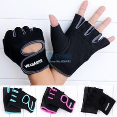 Gym Body Building Training Fitness Gloves Sports Weight Lifting Exercise Slip-Resistant Gloves For Men And Women 18785 US $5.20