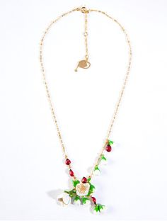 "Collana ""Primavera"" - Les Nereides - 60€  per scoprire dove acquistarlo a questo prezzo guarda il post sul mio blog http://lechatgourmandbyalixia.blogspot.com/2012/02/waiting-for-spring-alixia-choice-04.html"