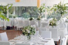 Marquee wedding at Garden's House My Perfect Wedding, Our Wedding Day, Dream Wedding, Wedding Stuff, Reception Design, Reception Table, Wedding Reception, Wedding Bells, Wedding Flowers