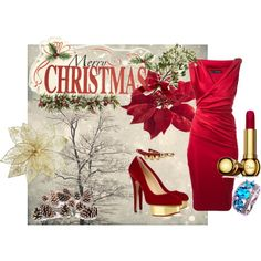 """X-mas time"" by alexandrabeejenkins on Polyvore"