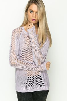 Everything 5 Pounds | Crochet Knit Pullover | Everything for 5 Pounds