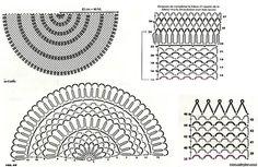 Mis Pasatiempos Amo el Crochet: Chal tejido en redondo en ganchillo
