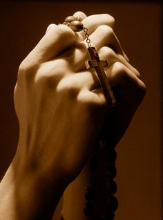 rosary...our life, our sweetness, and our hope