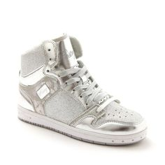 PA152002 Adult Glam Pie Glitter Silver