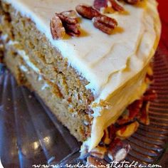 Brown Butter Pumpkin Cake with Honey-Cinnamon Frosting (grain free & refined sugar free) — Redeeming the Table