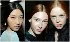 NARS Backstage Beauty Report Christopher Kane and Erdem LFW SS15