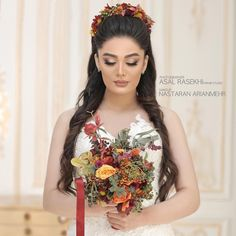 Boat Neck Wedding Dress, Wedding Dresses, Dramatic Wedding Makeup, Iranian, Wedding Styles, Fashion Dresses, Hair Color, Make Up, Portraits